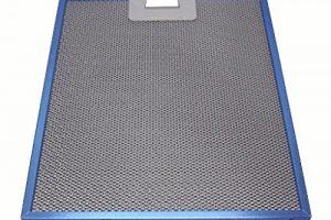 filtro campana extractora azul